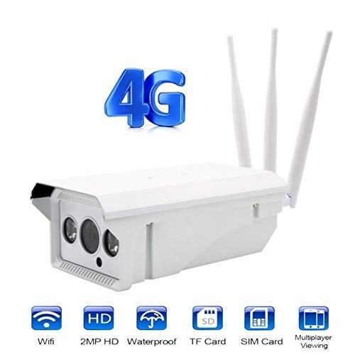 4G Wireless WiFi Cámara IP, IP66 Cámara de vigilancia al ...