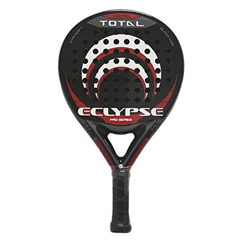 Softee Eclipse Total - Pala de pádel, Color Negro/Blanco / Rojo, 38 mm: Amazon.es: Deportes y aire libre
