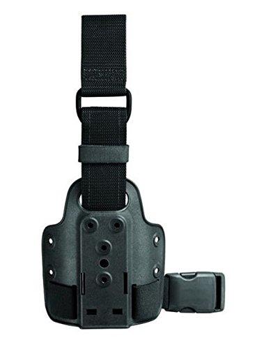 Safariland 6009-10 Single Strap Leg Shroud w/ D-Ring, Black