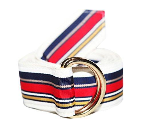 Classic D-ring Belt (F.H. Wadsworth Grosgrain Ribbon D-Ring Belt (Large,)