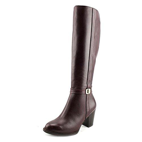 Giani Bernini Raiven Women Round Toe Leather Burgundy Knee, Oxblood, Size 7.5 by Giani Bernini