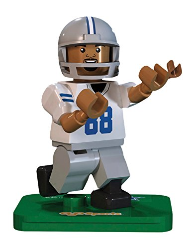 OYO NFL GEN3 Dallas Cowboys Dez Bryant Limited Edition Minifigures, White, Small