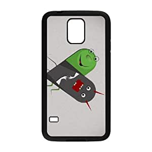 Samsung Galaxy S5 Phone Case Black I Hate You But I Love You PN0X4HRD Cell Phones Cases And Covers