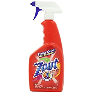 Zout Laundry Stain Remover Spray, Triple Enzyme Formula, 22 Ounce Pack of 1