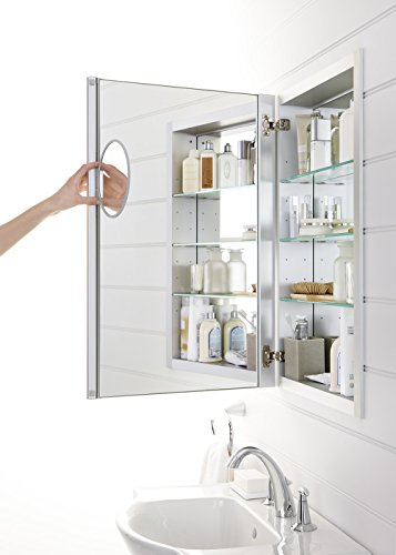 KOHLER K-99003-NA Verdera 20-Inch By 30-Inch Slow-Close Medicine Cabinet With Magnifying Mirror by Kohler (Image #2)