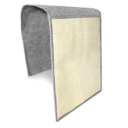 Navaris Cat Scratch Mat Sofa Shield – Natural Sisal Furniture Protector Scratching Pad for Cats – Scratch Carpet for Bed, Chair, Couch, Seat, Stairs