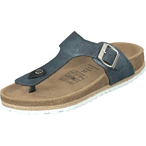 Supersoft Bleu Marine Supersoft Bleu Femme Mules Femme Mules FfqRF