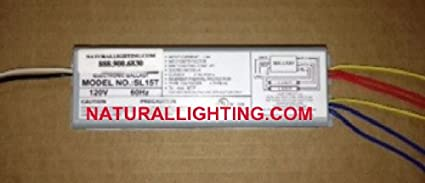 image unavailable  image not available for  color: sunpark sl15t electronic  ballast