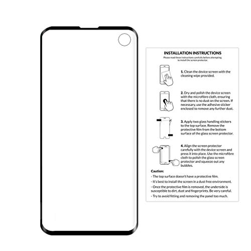 Cyhulu 2019 New Premium Clear Transparent PET Film Screen Protector Accessories for Samsung Galaxy S10 6.1 inch Phone by Cyhulu (Image #2)