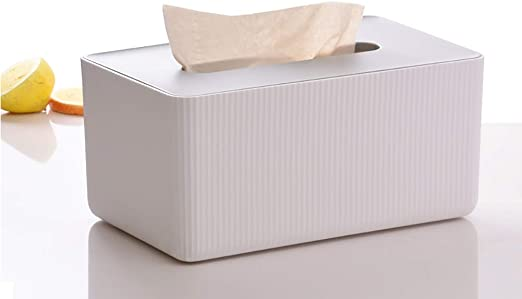 Caja Dispensadora De Toallitas, Caja De Pañuelos De Papel Seca Y Húmeda, Cubierta Caja De Papel Caja De Servilletas, Soporte con Tapa para Oficina En El Hogar, Decoración del Hogar: Amazon.es: Hogar
