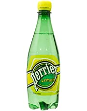 Perrier Lemon Sparkling Mineral Water, 500ml (Pack of 6)