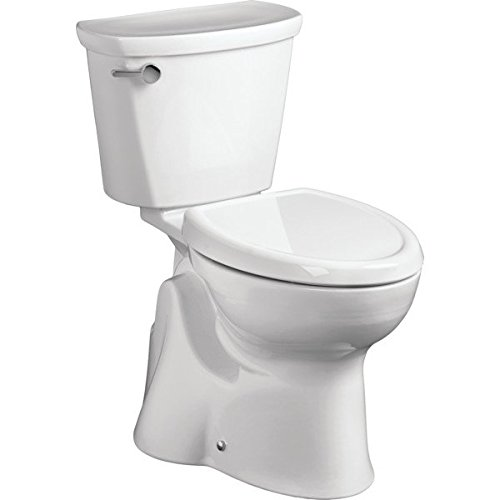 American Standard 4188A108.020 Access Pro Rough-In Het Toilet Tank with Right hand Trip Lever, White