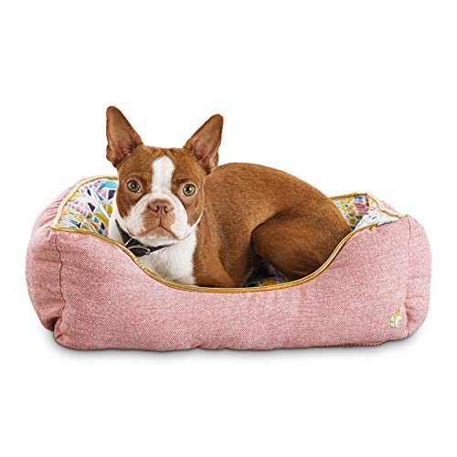 (Oh Joy! Oh So Comfy! Geometric Pink Pet Bed, 20