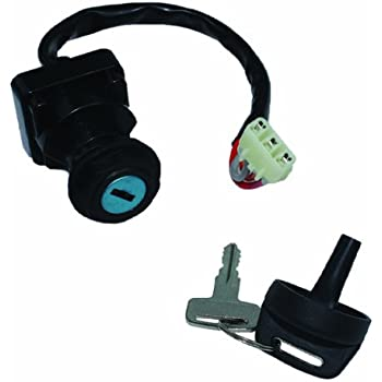 caltric ignition key switch fits arctic cat. Black Bedroom Furniture Sets. Home Design Ideas