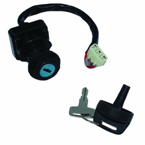 Caltric IGNITION KEY SWITCH Fits ARCTIC CAT 500 4X4 FIS MRP TRV TBX LE 2000-2006 AUTOMATIC NEW (Arctic Cat Ignition Switch)