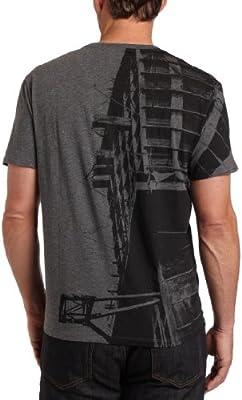 Calvin Klein Men's Cotton Jersey Graphic V Neck Tee