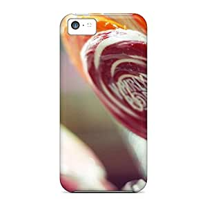 Premium Tpu Food And Drink Lollipops Cover Skin For Iphone 5c