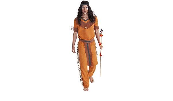 Rubies- Disfraz indio sioux adultos, Talla única (Rubies ...