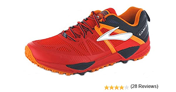 BROOKS CASCADIA 10, 1101871D61, rojo, 7.5: Amazon.es: Zapatos y ...
