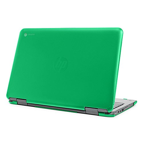 mCover Hard Shell Case for 11.6 HP Chromebook X360 11 G1 EE laptops (NOT Compatible with HP C11 G4EE / G5EE / G6EE) (HP CX360 11 G1EE Green)