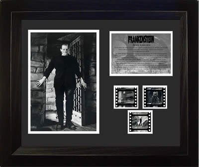 Frankenstein Boris Karloff Film Cell from Filmcells Ltd