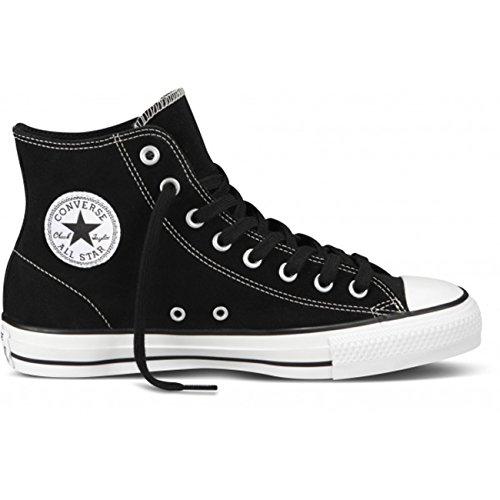 45dba8ee7c385c Converse Unisex Chuck Tyalor All Star Pro Hi Black White Skate Shoe 7 Men US 9  Women US