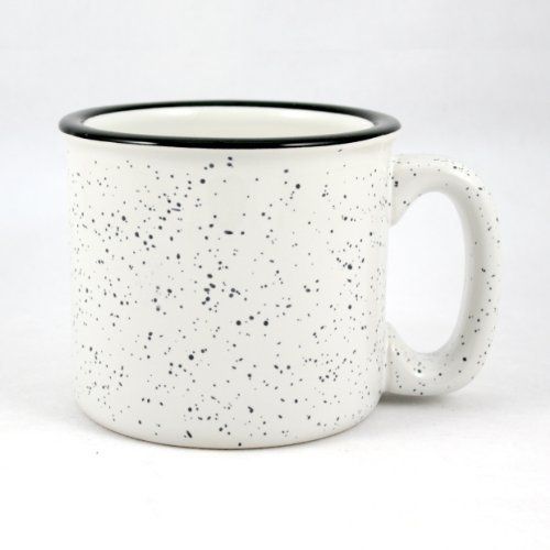 Marble Creek Ceramic Campfire Mug, 15oz (White) (Ceramic Mug)