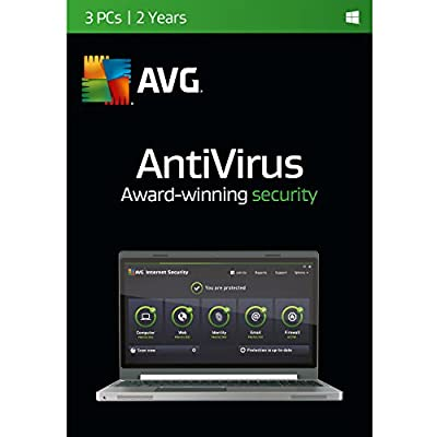 AVG Antivirus | 3 PCs | 2 Years Twister Parent