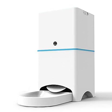 LBAFS Alimentador Automático De Perros con Cámara - Alimentación Remota Inteligente De 5L, Monitoreo En