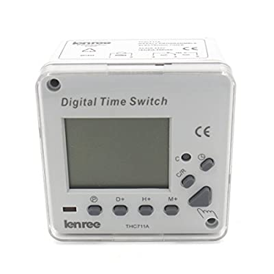 CN711A AC 220V 16A Digital LCD Power Programmable Timer Switch Time Relay
