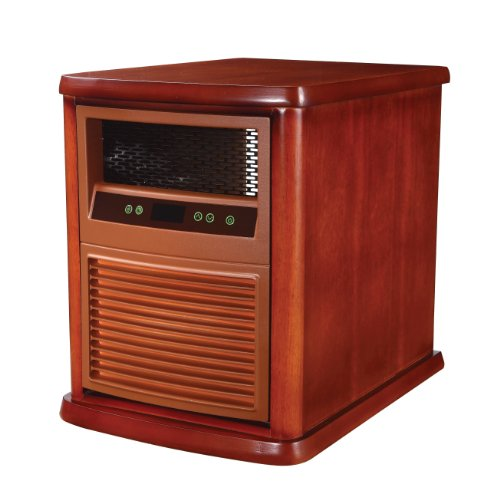 "Pelonis Infrared Quartz Heater 19.29 "" H X 15.75 "" W X 20.47 "" D 800 W Infrared Heaters Pelonis"
