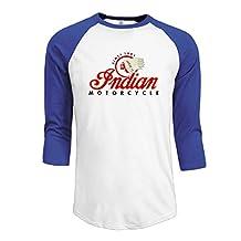 Men's Indian Motorcycle Logo 3/4 Sleeve Raglan T-shirt