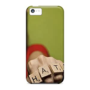 Protection Cases For Iphone 5c / Cases Covers For Iphone(hate Fist)