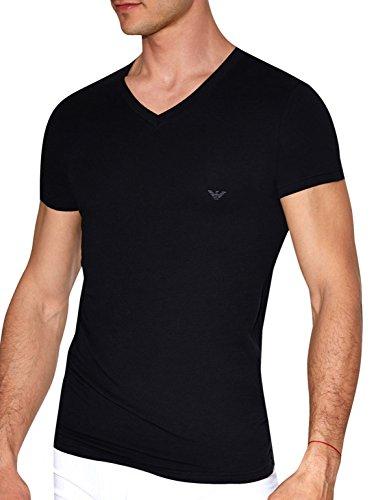 Eagle Stretch Cotton V-Neck T-Shirt