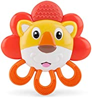 Nuby Vibe-EEZ Teether- Lion