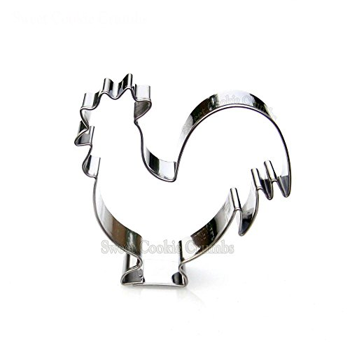 (Rooster Cookie Cutter- Stainless Steel)