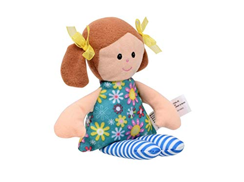 Ethnic Doll Young Girls Children Baby Cotton Reborn Doll Toddler Cute Kids Stuffed Play Toy Plush Rag Dolls 11in. (Style Varies)