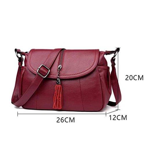 Messenger Blue Dello Sra Shopping Bolso Moda Ajlby Compras Ajlby De Bolsos Coreana Borse Ms La Bag Coreano Blu 4AIPqg