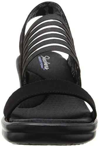Sandali Donna Skechers Sci Cinturino Caviglia Fi Rumbers alla Nero Black con HwwAtx1Sq