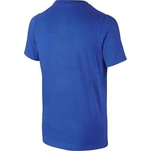 Tee Yth Nike Multicolore game Swoosh Royal T volt Bambino shirt Jdi fEqHqOw4