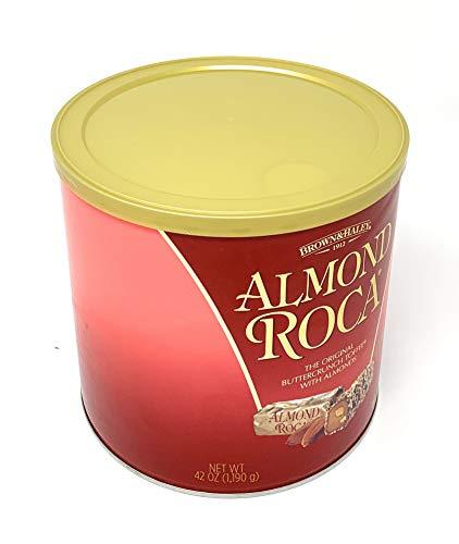 Almond Roca Canister, 42 oz -