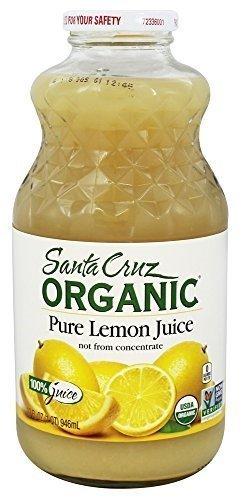 Santa Cruz Juice Lemon 100% Org