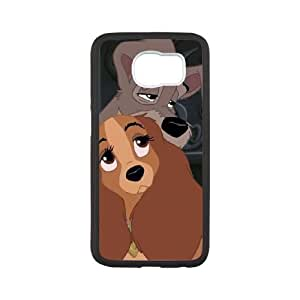 Samsung Galaxy S6 Phone Case White Lady and the Tramp II Scamp's Adventure CXF322587