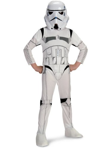 Party White Costumes Trash Best (Stormtrooper Costume - Large)
