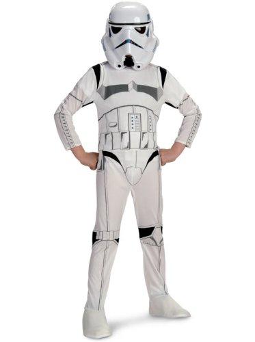 Standard Stormtrooper Kids Costumes (Rubie's Stormtrooper Costume - Kids Large)