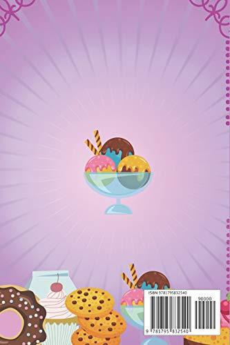 Mis Dulces Secretos – Libro de Recetas en Blanco: Cuaderno Recetario con hoja de Memorias para cada receta, 6in x 9 in…