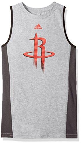 NBA Youth Boys 8-20 Houston Rockets Fan Gear Tank-Heather - Swim Gear Houston
