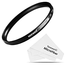 Neewer® 77MM UV Lens Filter + Microfiber Cleaning Cloth for CANON 24-105MM, 10-22MM, 17-40MM and NIKON 28-300, 18-300 DSLR Zoom Lenses