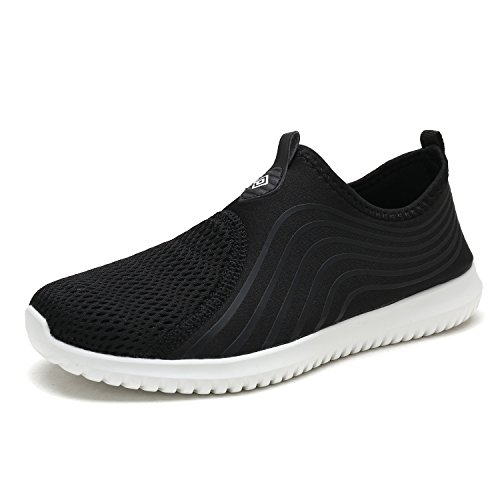 Sports Dry Water White Walking Sneakers Casual DREAM Quick Black Women's Shoes PAIRS qwRg1R