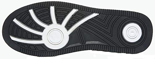 Schwarz Erwachsene Jungen Unisex Sneakers Herren Turnschuhe VITIKE Leather qgO870nx
